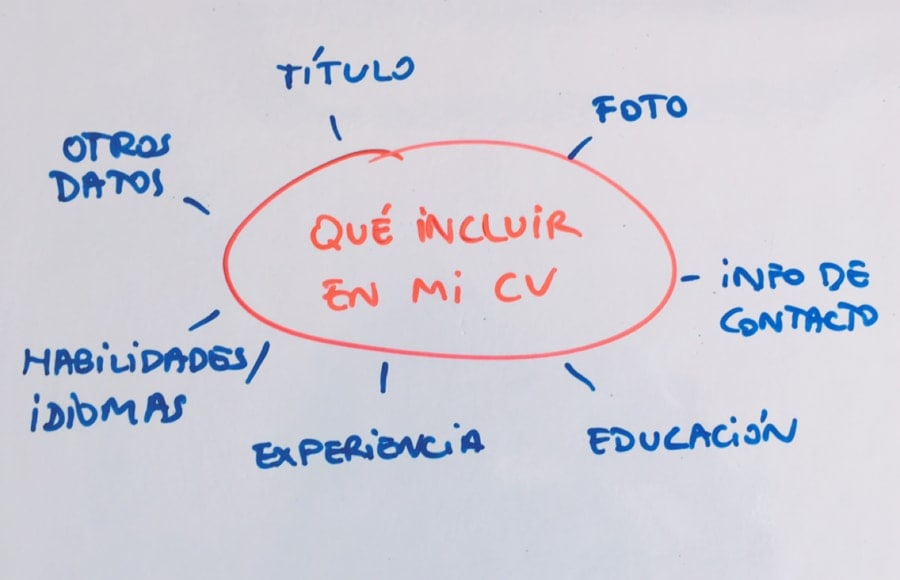 que incluir en un curriculum