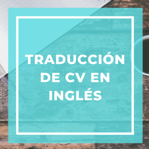 traduccion de cv en ingles